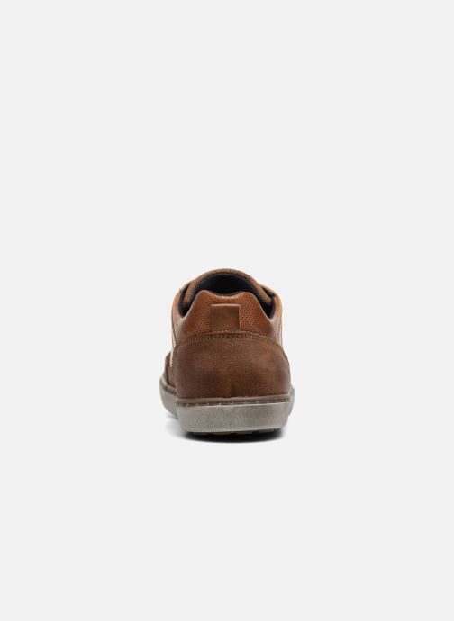 Baskets Dockers Jan Marron vue droite