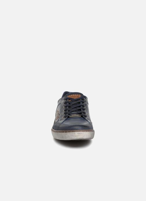 Baskets Dockers Jan Bleu vue portées chaussures