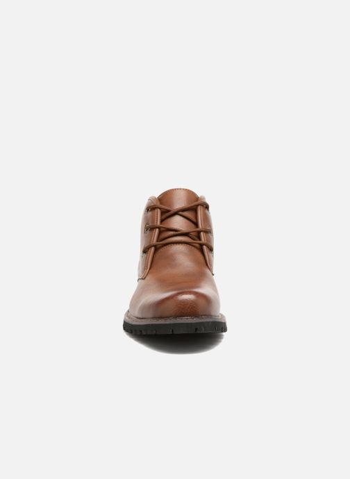 Bottines et boots I Love Shoes BAUDOUIN Marron vue portées chaussures