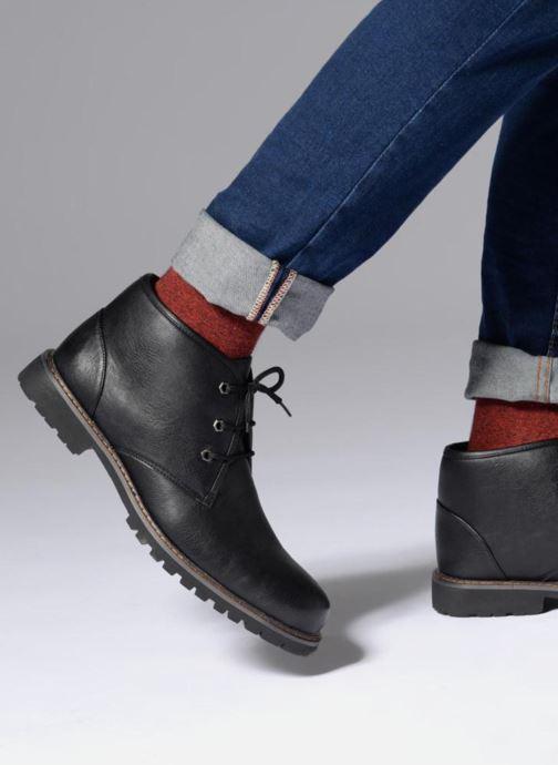 Bottines et boots I Love Shoes BAUDOUIN Noir vue bas / vue portée sac