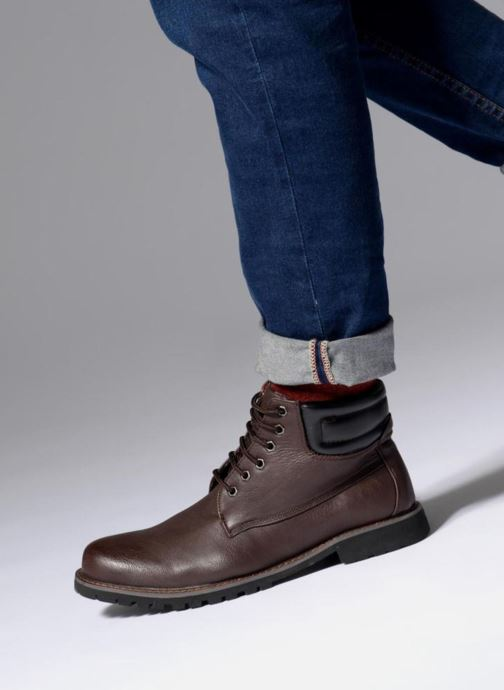 Ankle boots I Love Shoes BAYARD Brown view from underneath / model view