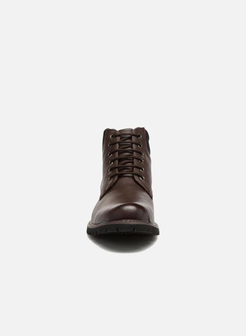Stivaletti e tronchetti I Love Shoes BAYARD Marrone modello indossato