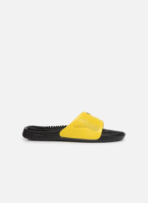 Chaussures de sport Arena Marco X Grip Box+Hook Jaune vue derrière
