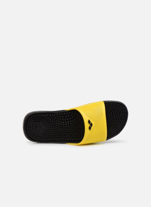 Chaussures de sport Arena Marco X Grip Box+Hook Jaune vue gauche