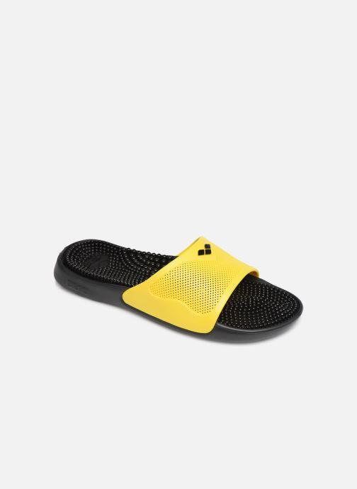 Chaussures de sport Arena Marco X Grip Box+Hook Jaune vue détail/paire