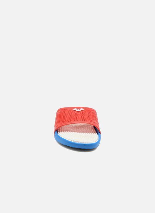 Zapatillas de deporte Arena Marco X Grip Box+Hook Rojo vista del modelo
