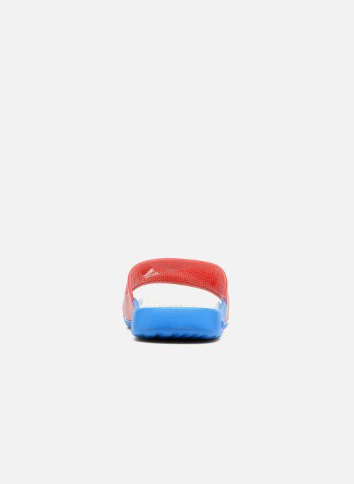 Zapatillas de deporte Arena Marco X Grip Box+Hook Rojo vista lateral derecha