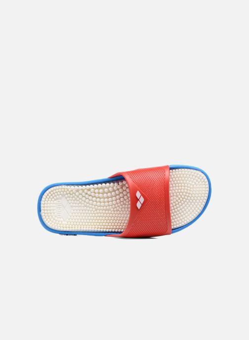 Zapatillas de deporte Arena Marco X Grip Box+Hook Rojo vista lateral izquierda