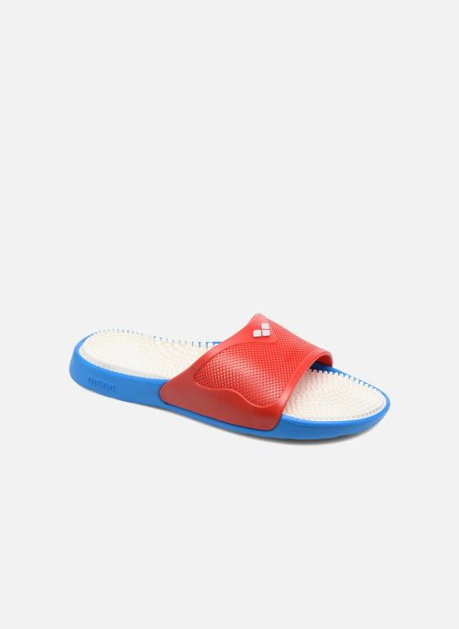4bcc0f9f5e9 Chaussures de sport Arena Marco X Grip Box+Hook Rouge vue détail paire