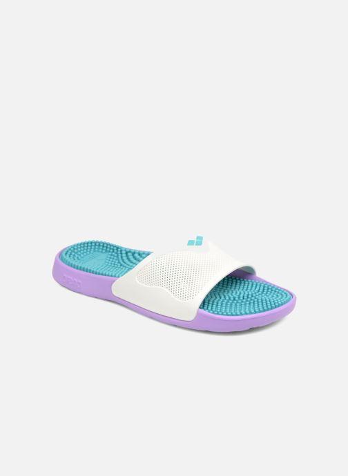 Chaussures de sport Arena Marco X Grip Box+Hook Violet vue détail/paire