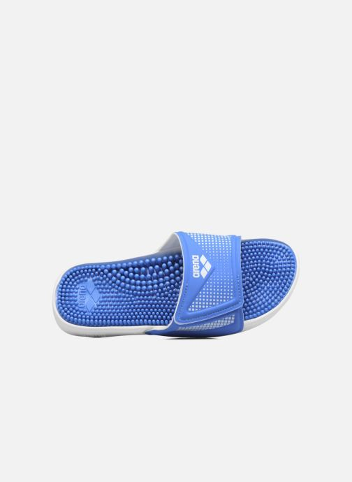 Sport shoes Arena Marco Velcro Hook Blue view from the left