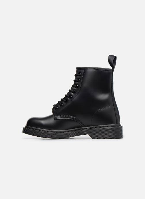 Bottines et boots Dr. Martens 1460 MONO Noir vue face