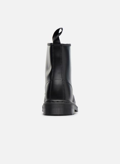 Bottines et boots Dr. Martens 1460 MONO Noir vue droite