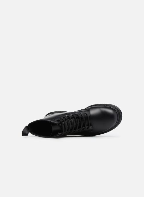 Bottines et boots Dr. Martens 1460 MONO Noir vue gauche