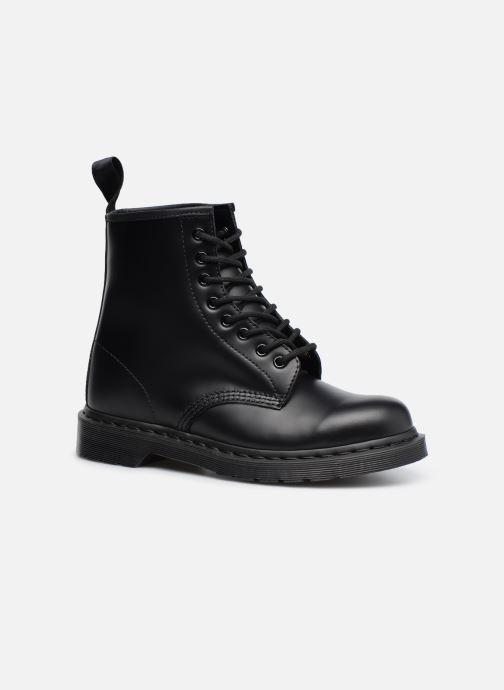 Bottines et boots Dr. Martens 1460 MONO Noir vue détail/paire