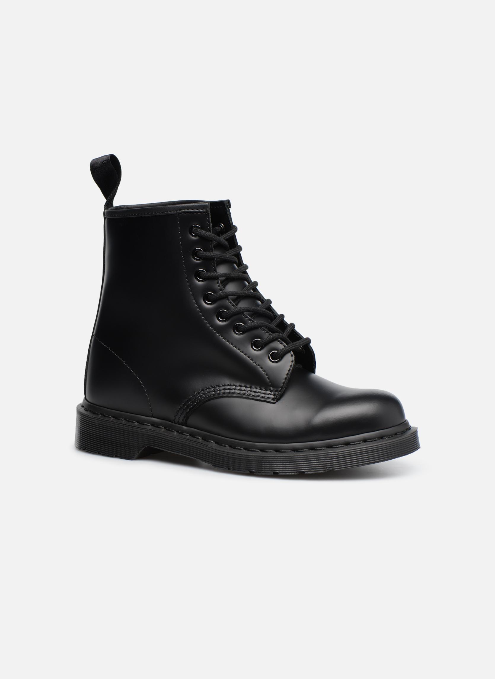 Boots en enkellaarsjes DR. Martens 1460 MONO Zwart detail