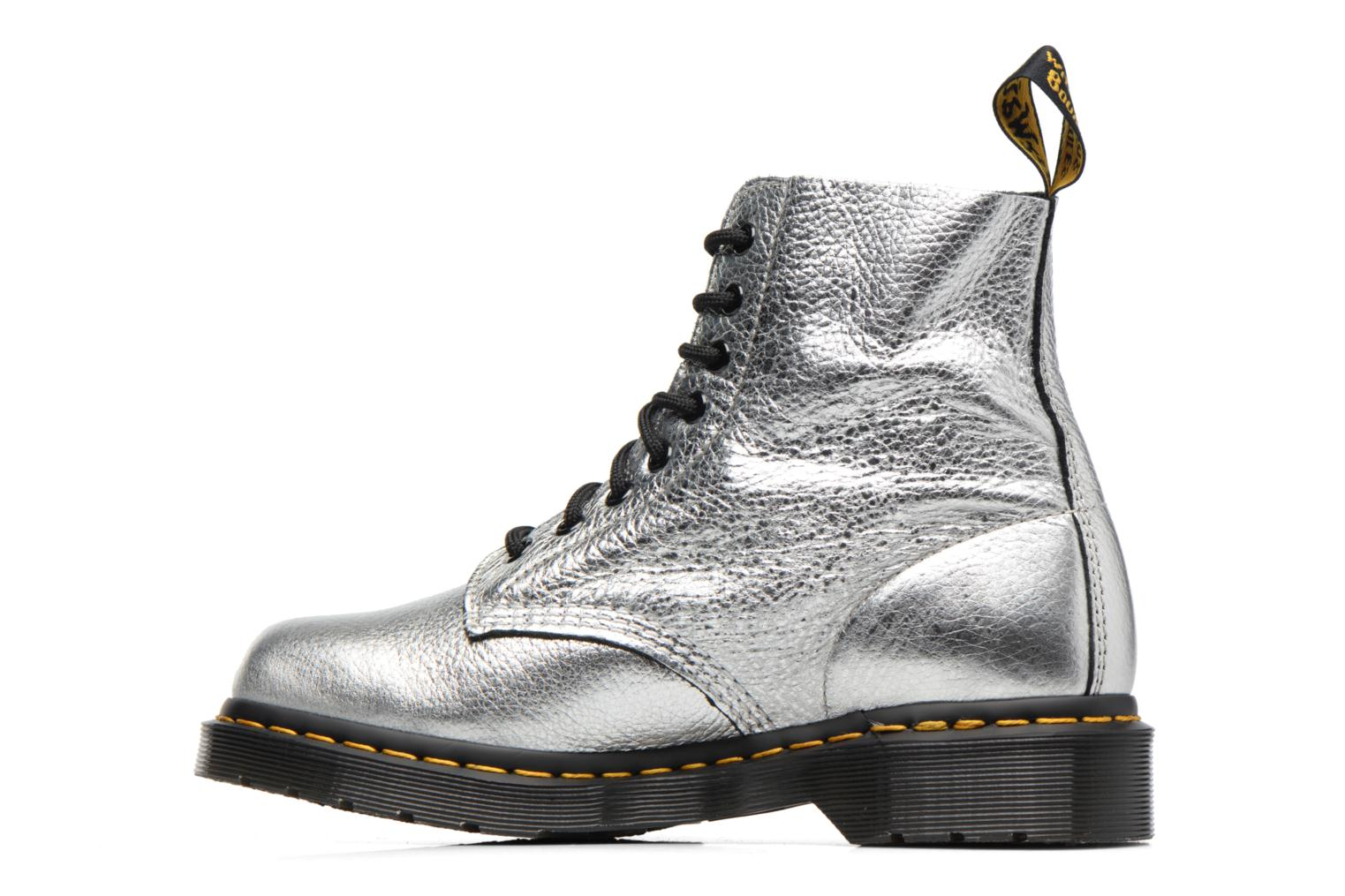 Ankle boots DR. Martens PASCAL MET Silver front view