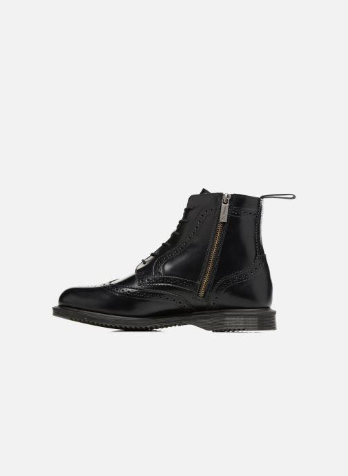 Stiefeletten & Boots Dr. Martens Delphine schwarz ansicht von vorne