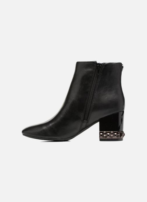 Boots en enkellaarsjes Guess BLUESKY Zwart voorkant
