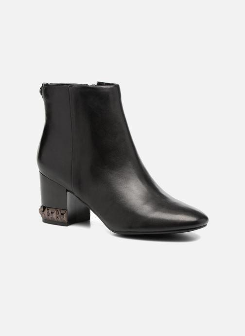 Ankelstøvler Guess BLUESKY Sort detaljeret billede af skoene