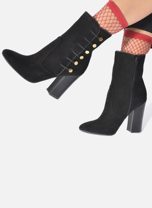 Boots en enkellaarsjes Guess LUCENA Zwart onder
