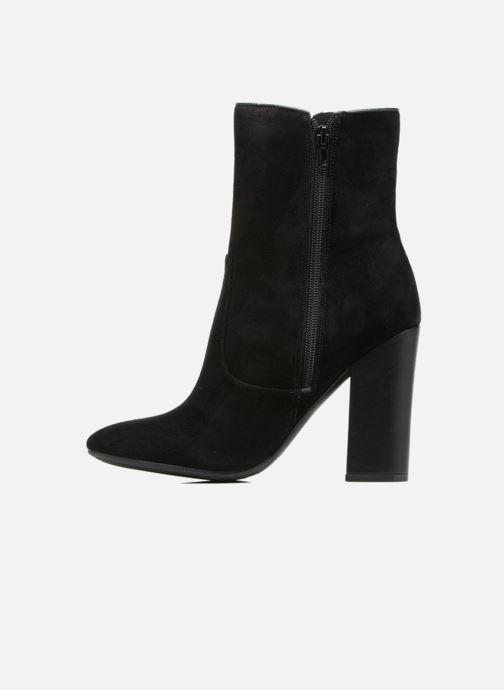 Boots en enkellaarsjes Guess LUCENA Zwart voorkant