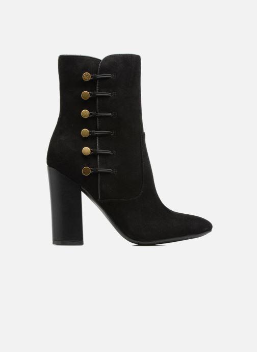 Boots en enkellaarsjes Guess LUCENA Zwart achterkant
