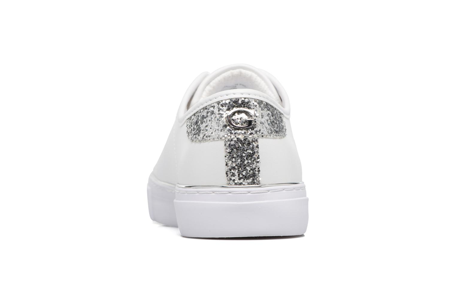Baskets Guess GODESS Blanc vue droite