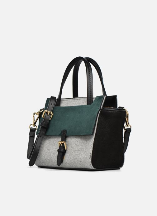 Handtassen COSMOPARIS Crossbody Meya Bicolore Grijs model