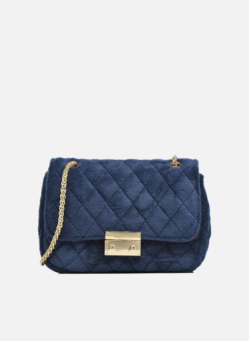Bolsos de mano COSMOPARIS Crossbody Omia Velvet Azul vista de detalle / par