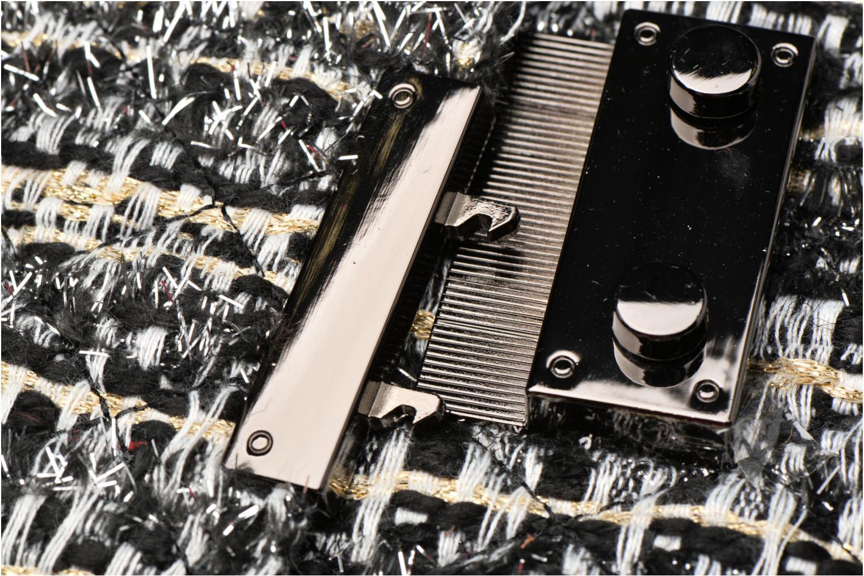 Tweed épaule COSMOPARIS Porté Noir Gris Onela WOWTS