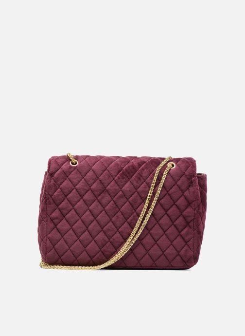Handtaschen COSMOPARIS Porté épaule Onela Velvet weinrot ansicht von vorne