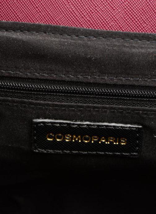 Handtaschen COSMOPARIS Porté épaule Onela Velvet weinrot ansicht von hinten