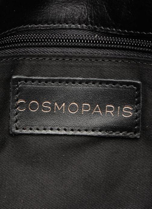 Handtassen COSMOPARIS Porté épaule Onelle Cuir Zwart achterkant