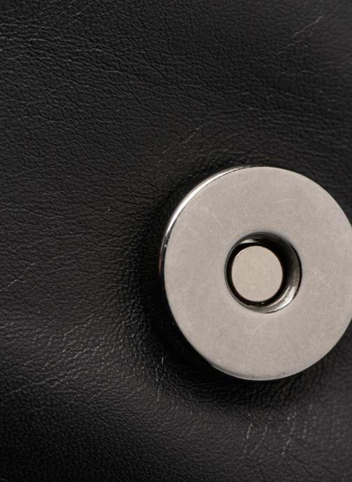 Bolsos de mano COSMOPARIS Porté épaule Onelle Cuir Negro vista lateral izquierda