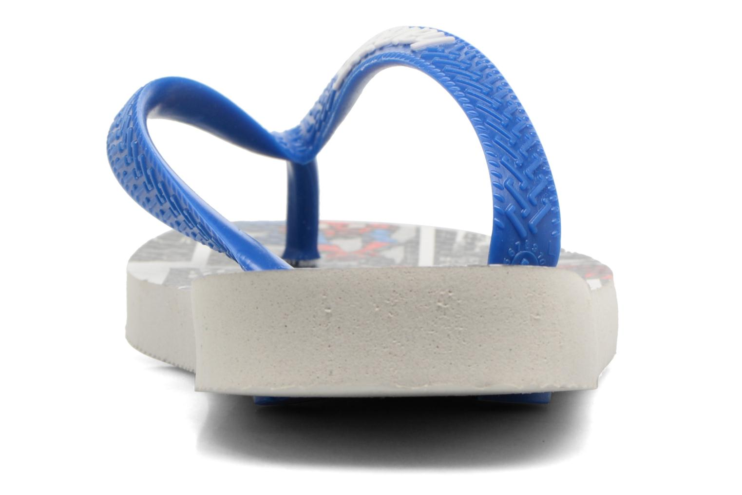 Flip flops Havaianas Top Marvel Blue view from the right