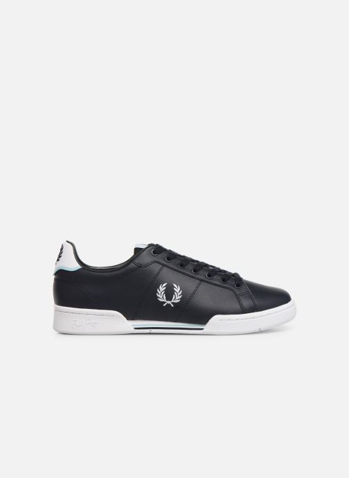 Sneakers Fred Perry B722 Leather Blauw achterkant