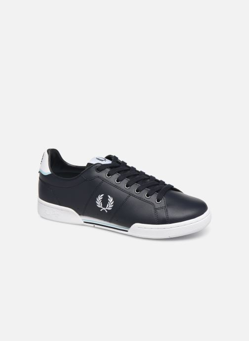 Sneakers Fred Perry B722 Leather Blauw detail