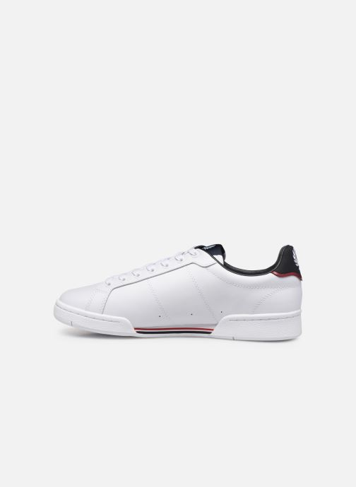 Baskets Fred Perry B722 Leather Blanc vue face