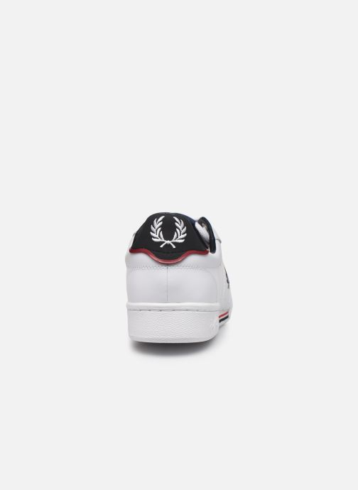 Baskets Fred Perry B722 Leather Blanc vue droite