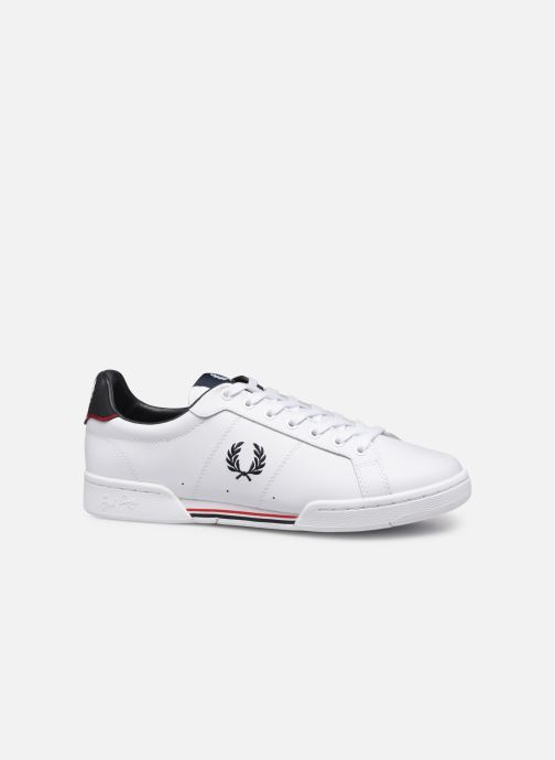 Baskets Fred Perry B722 Leather Blanc vue derrière