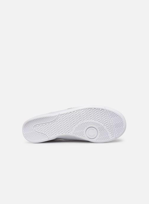 Baskets Fred Perry B722 Leather Blanc vue haut