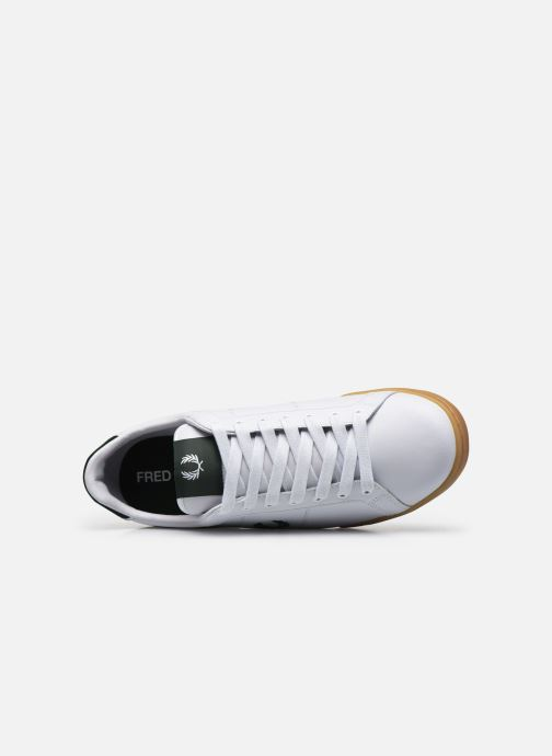 Baskets Fred Perry B722 Leather Blanc vue gauche