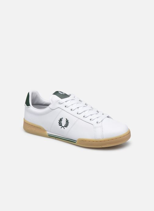 Baskets Fred Perry B722 Leather Blanc vue détail/paire