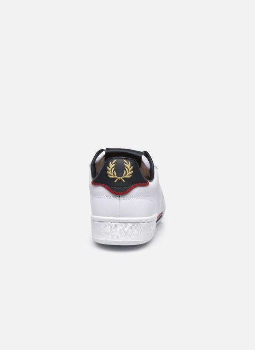 Sneaker Fred Perry B722 Leather weiß ansicht von rechts