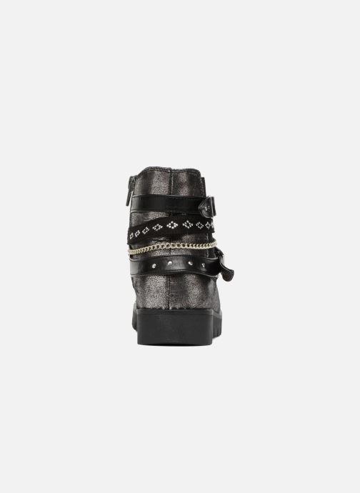 Bottines et boots ASSO 60156 Gris vue droite