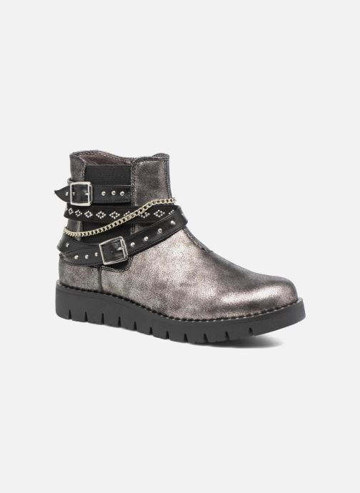 Bottines et boots ASSO 60156 Gris vue détail/paire