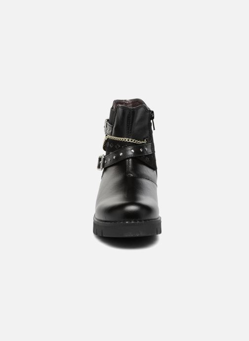 Ankle boots ASSO 60156 Black model view