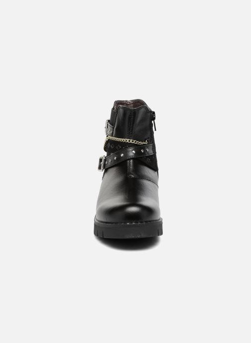 Stiefeletten & Boots ASSO 60156 schwarz schuhe getragen