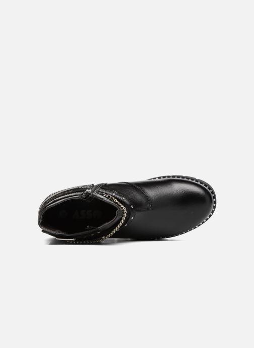 Bottines et boots ASSO 60156 Noir vue gauche